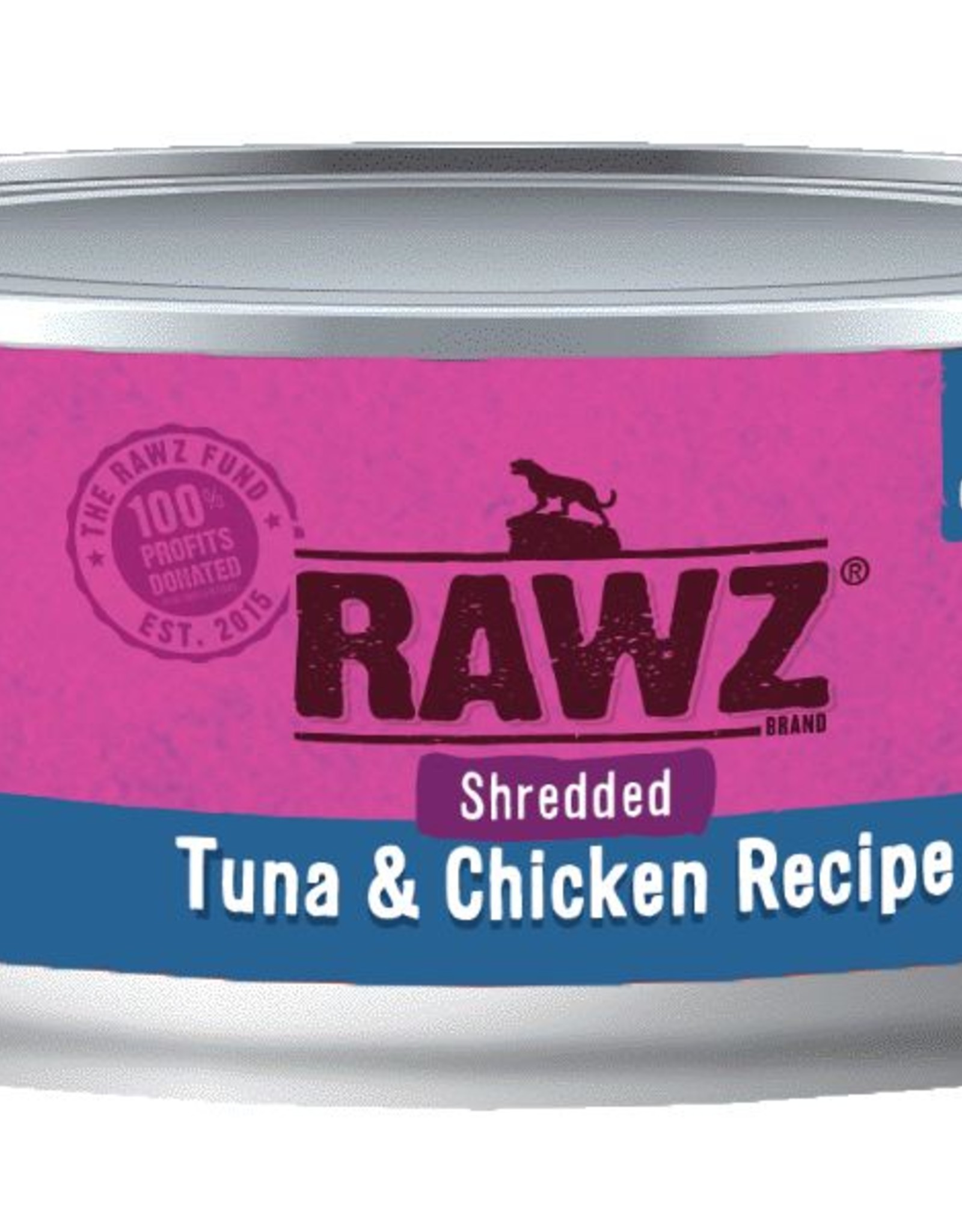 Rawz Rawz Cat Shredded Tuna & Chicken