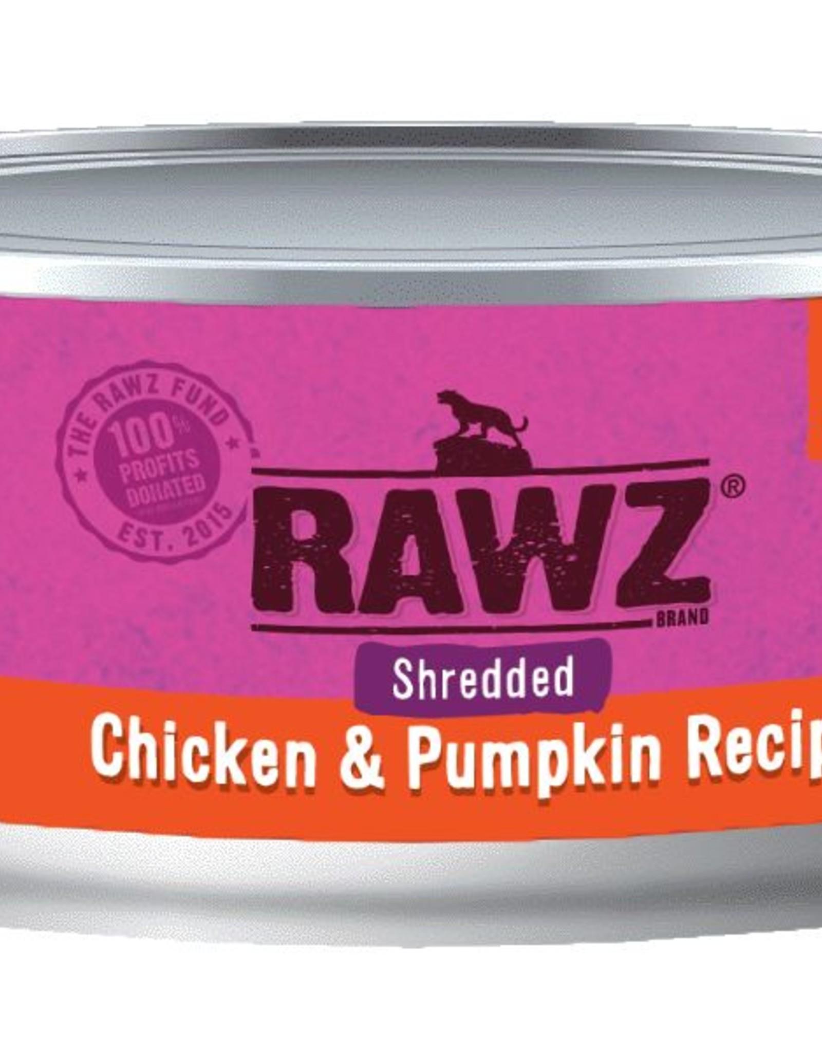 Rawz Rawz Cat Shredded Chicken & Pumpkin