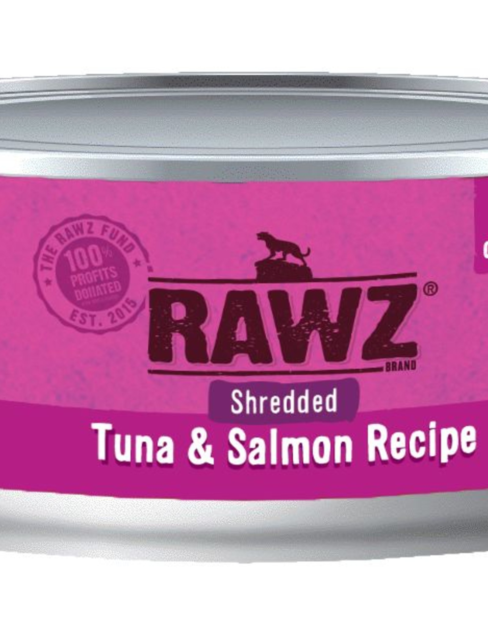 Rawz Rawz Cat Shredded Tuna & Salmon