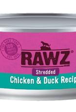 Rawz Rawz Cat Shredded Chicken & Duck