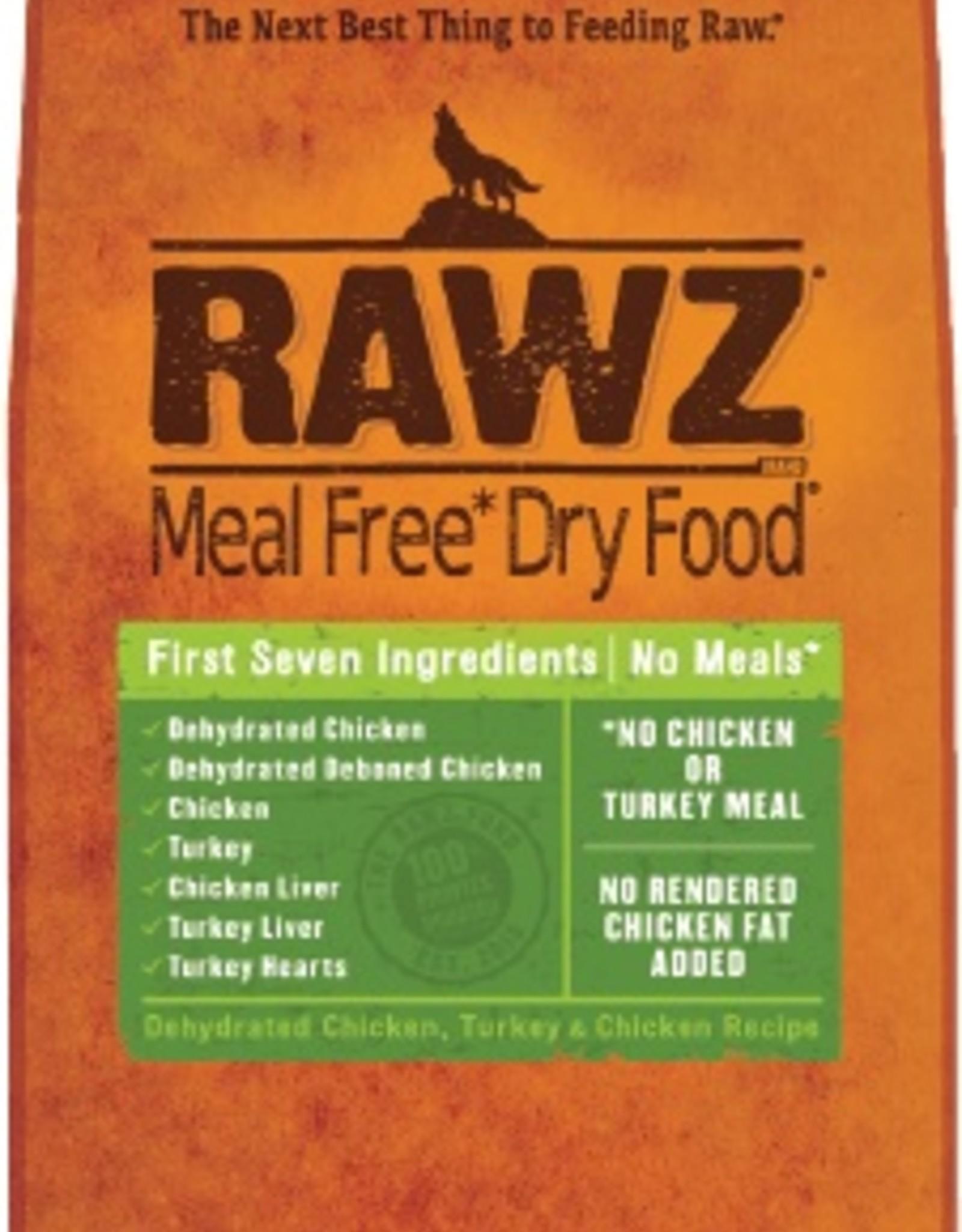 Rawz Rawz Dehydrated Chicken, Turkey & Chicken Recipe