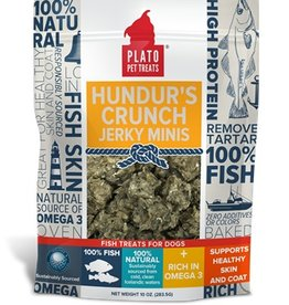 Plato Pet Treats Plato Hundur's Crunch Jerky Minis