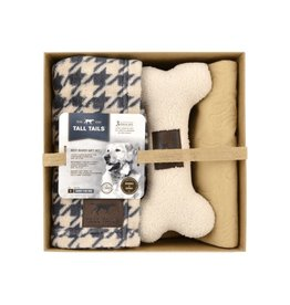 Tall Tails Tall Tails Best Buddies Gift Set - Houndstooth