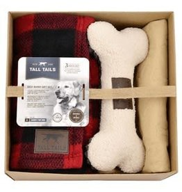 Tall Tails Tall Tails Best Buddies Gift Set - Hunters Plaid