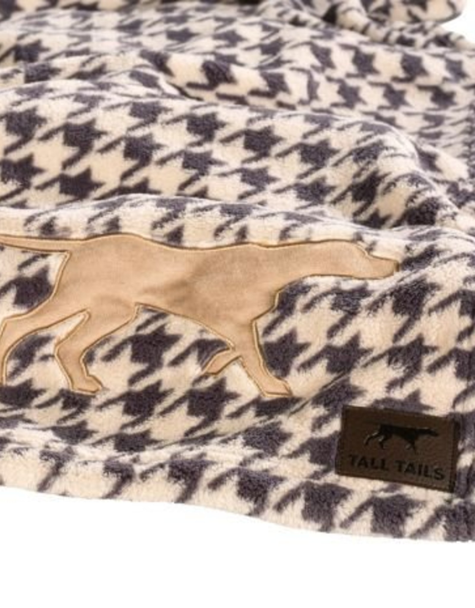 Tall Tails Tall Tails Fleece Blanket Houndstooth