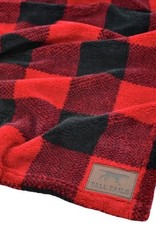 Tall Tails Tall Tails Fleece Blanket Hunter's Plaid