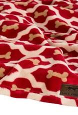 """Tall Tails Tall Tails Fleece Blanket Red Bone 20""""x 30"""""""