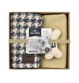 Tall Tails Tall Tails Puppy Gift Set - Houndstooth