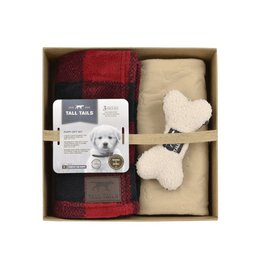 Tall Tails Tall Tails Puppy Gift Set - Hunters Plaid