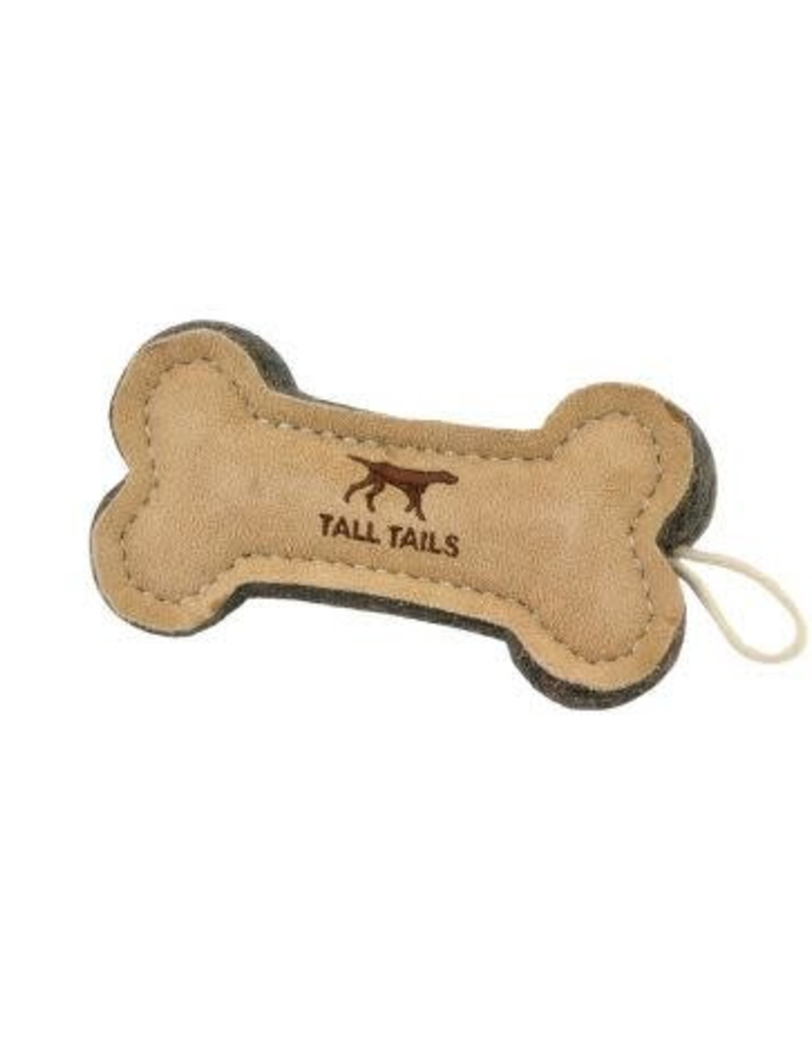 """Tall Tails Tall Tails Natural Wool Bone Toy 6"""""""
