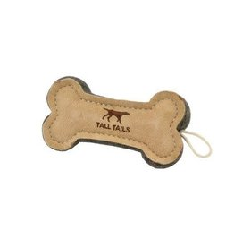 Tall Tails Tall Tails Natural Wool Bone Toy 6""