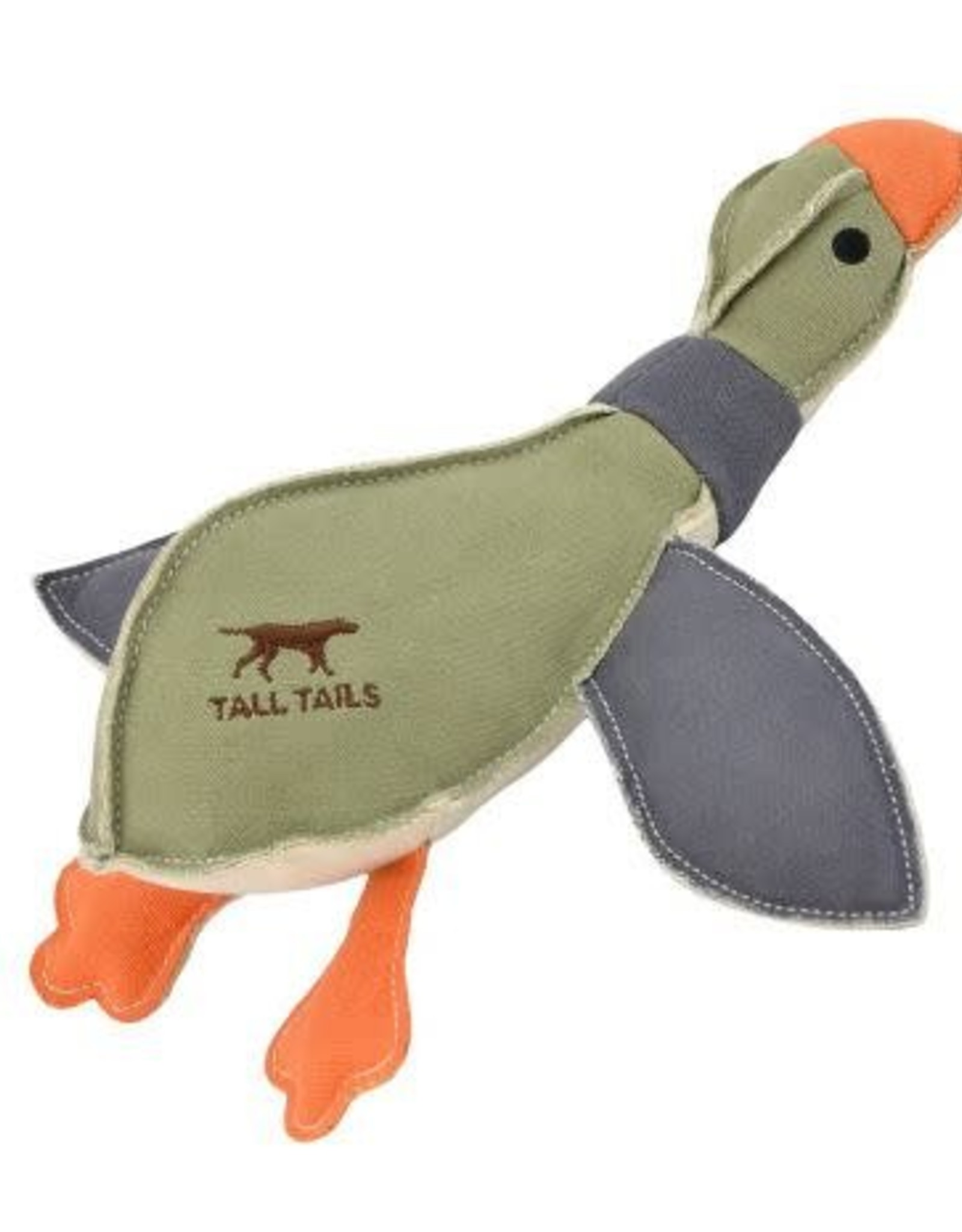 Tall Tails Tall Tails Canvas Duck with Squeaker