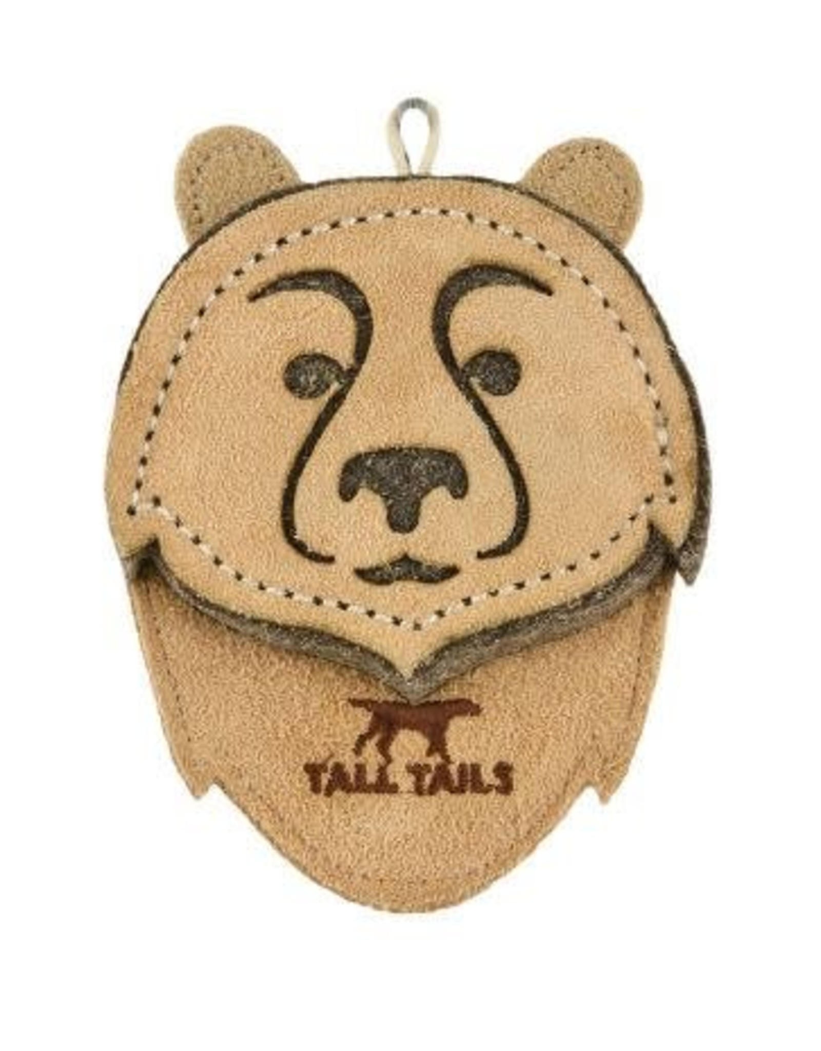 Tall Tails Tall Tails Natural Leather Bear Toy