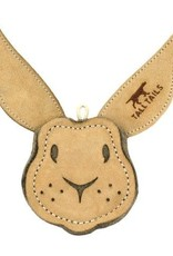Tall Tails Tall Tails Natural Leather Rabbit Toy