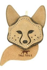 Tall Tails Tall Tails Natural Leather Fox Toy