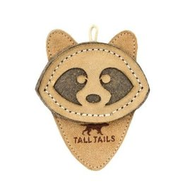 Tall Tails Tall Tails Natural Leather Raccoon Toy