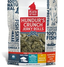 Plato Pet Treats Plato Hundur's Crunch Jerky Rolls