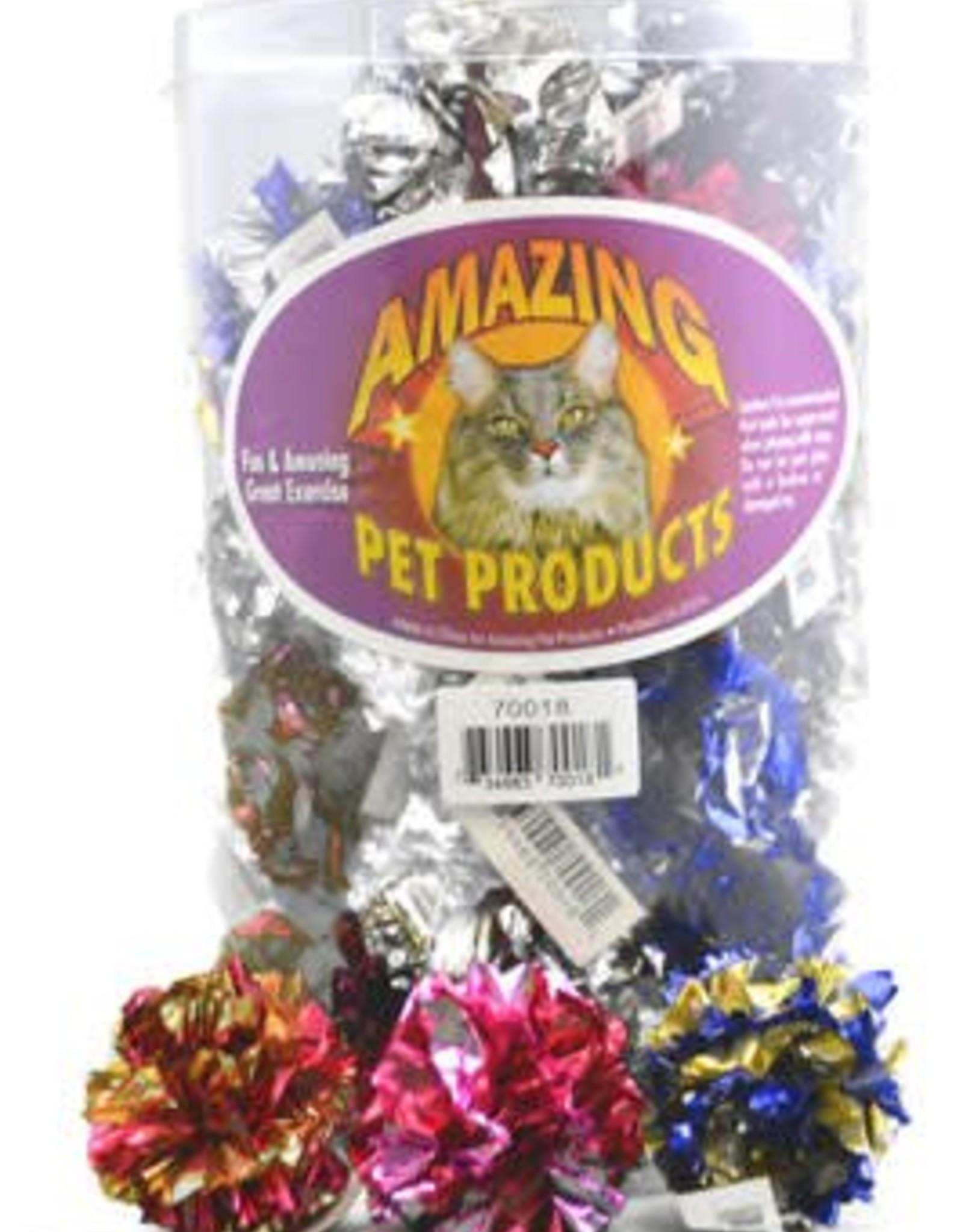 Amazing Cat Mylar Crinkle Ball