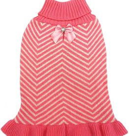 Fashion Pet - Pink Ruffles Sweater