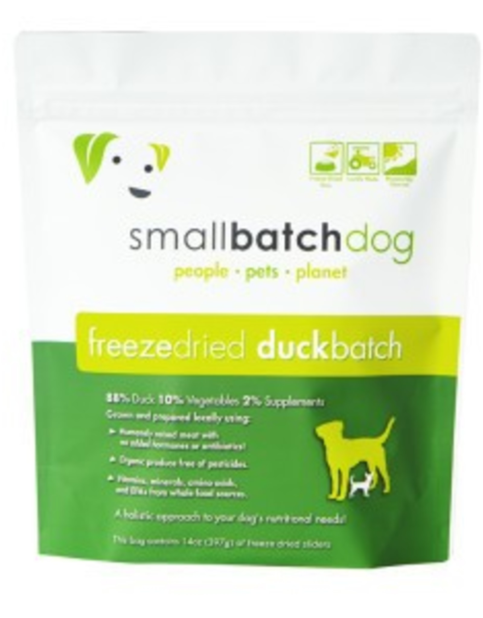 Smallbatch Smallbatch Duck Freeze Dried Sliders 14oz