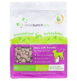 Smallbatch Smallbatch Freeze Dried Turkey Bites 7oz