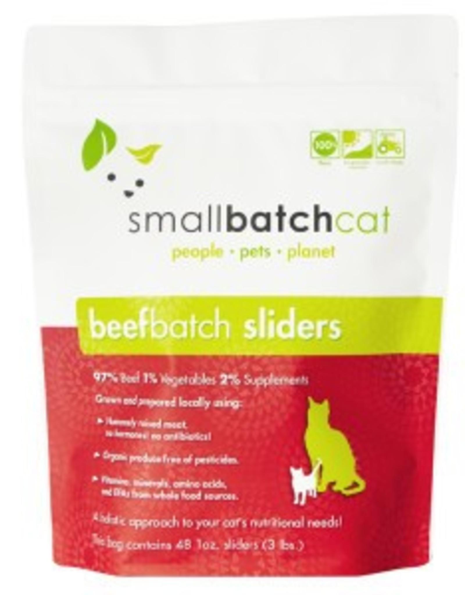 Smallbatch Smallbatch Cat Beef Sliders 3lb