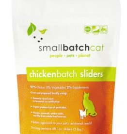 Smallbatch Smallbatch Cat Chicken Sliders 3lb