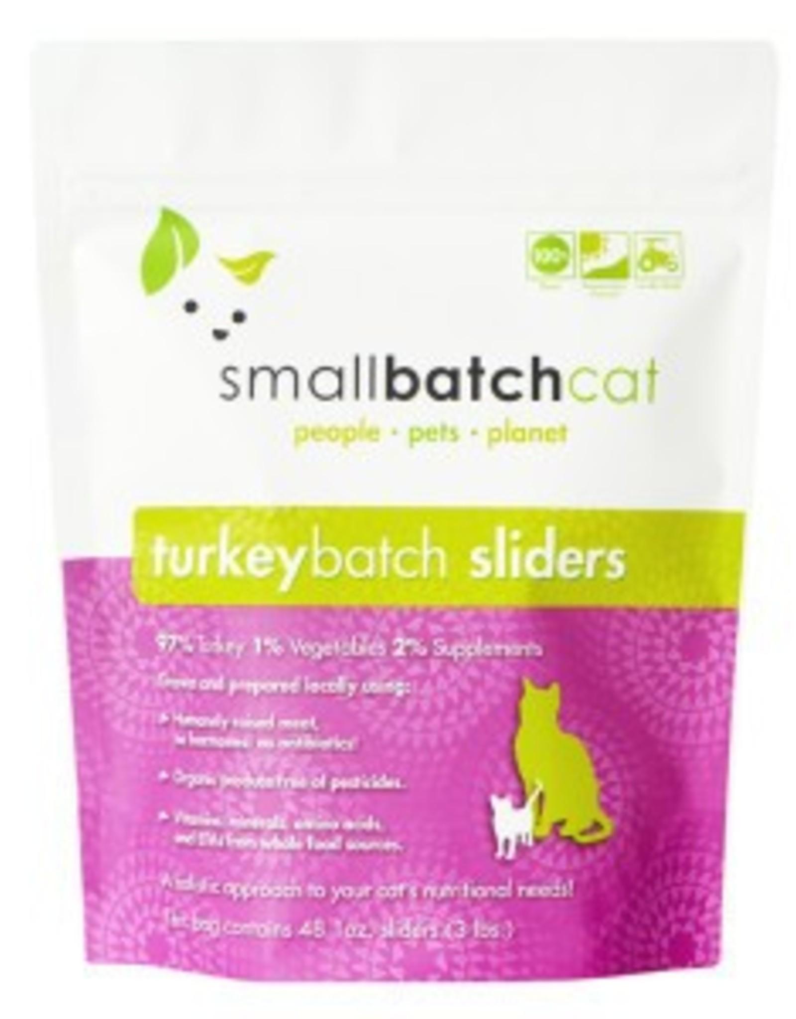 Smallbatch Smallbatch Cat Turkey Sliders 3lb
