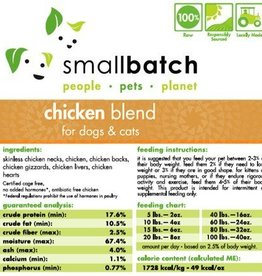 Smallbatch Smallbatch Chicken Blend 2lb