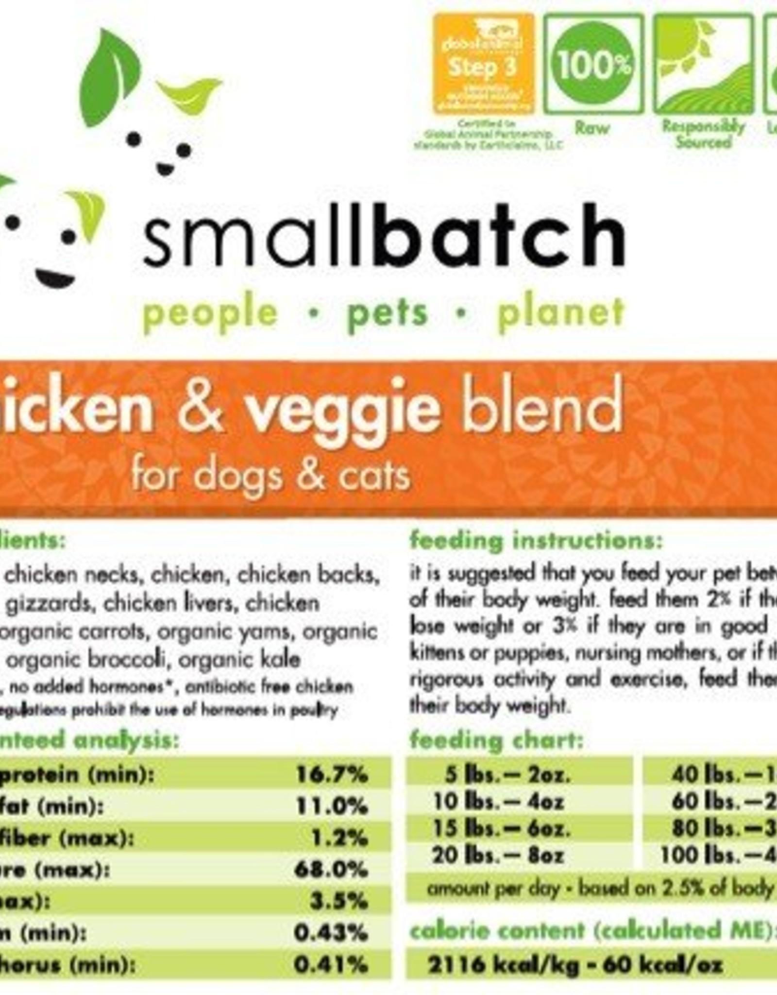 Smallbatch Smallbatch Chicken & Vegetable 2lb