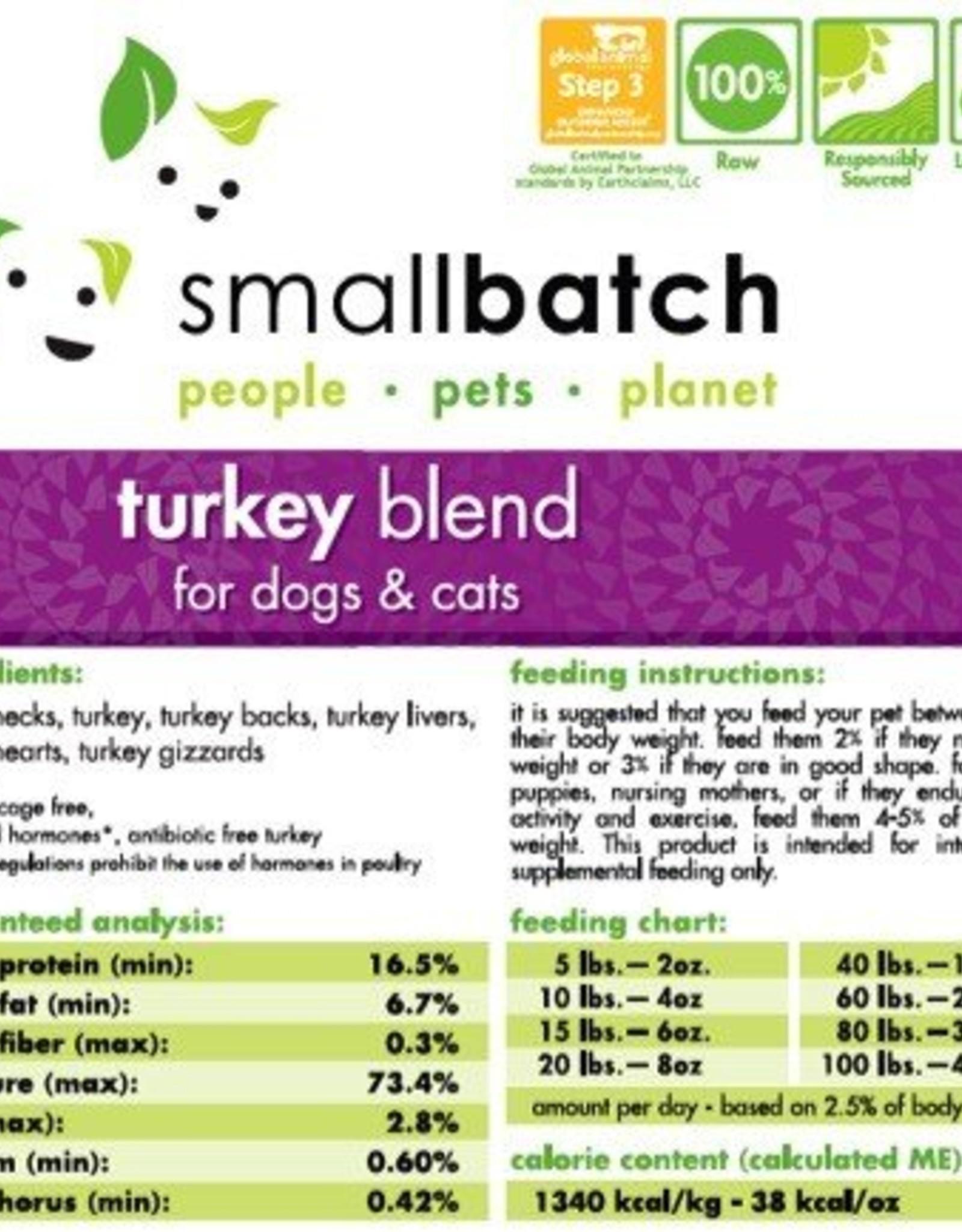 Smallbatch Smallbatch Turkey Blend 2lb