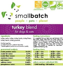 Smallbatch Smallbatch Turkey Blend 2lb