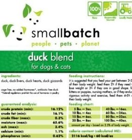 Smallbatch Smallbatch Duck Blend 2lb