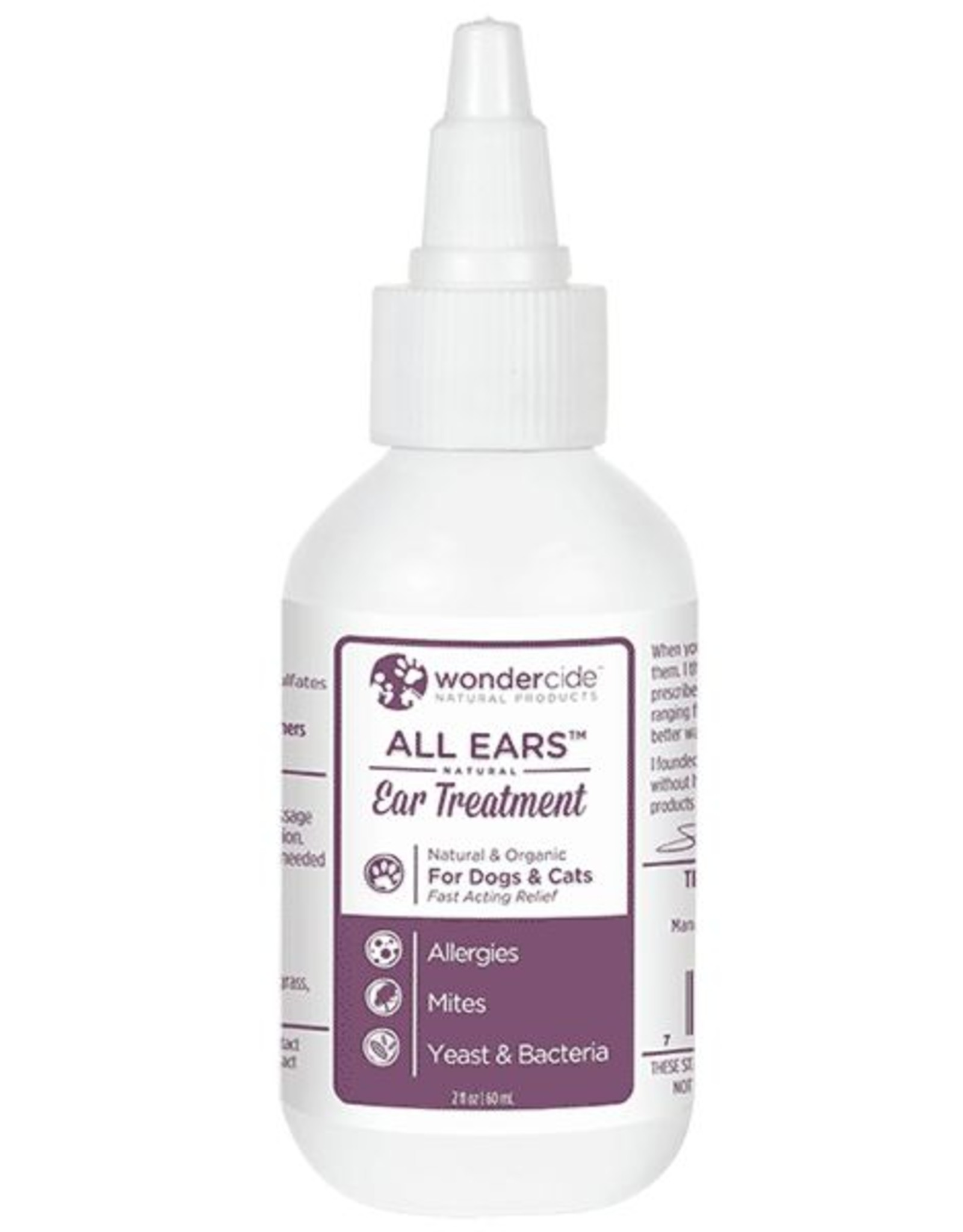 Wondercide Wondercide All Ears Treatment - Ear Mite and Infection 2oz