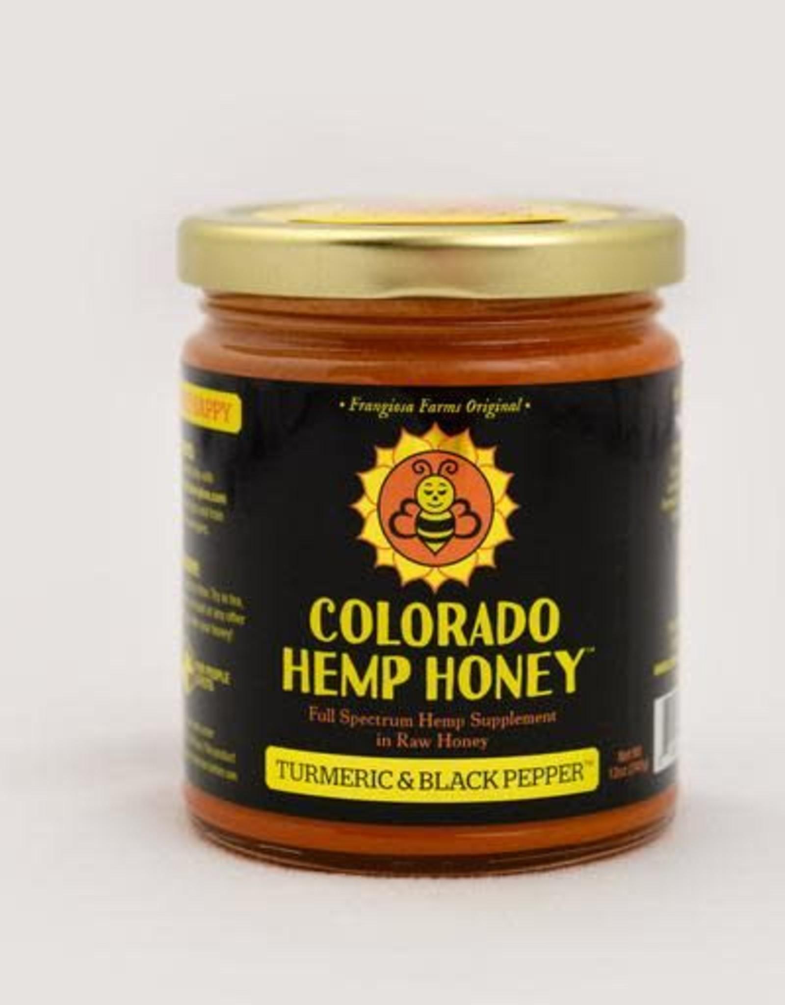 Colorado Hemp Honey Colorado Hemp Honey Turmeric & Black Pepper 6oz Jar