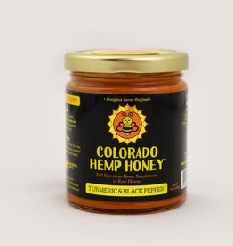 Colorado Hemp Honey Colorado Hemp Honey Turmeric & Black Pepper 6oz Jar