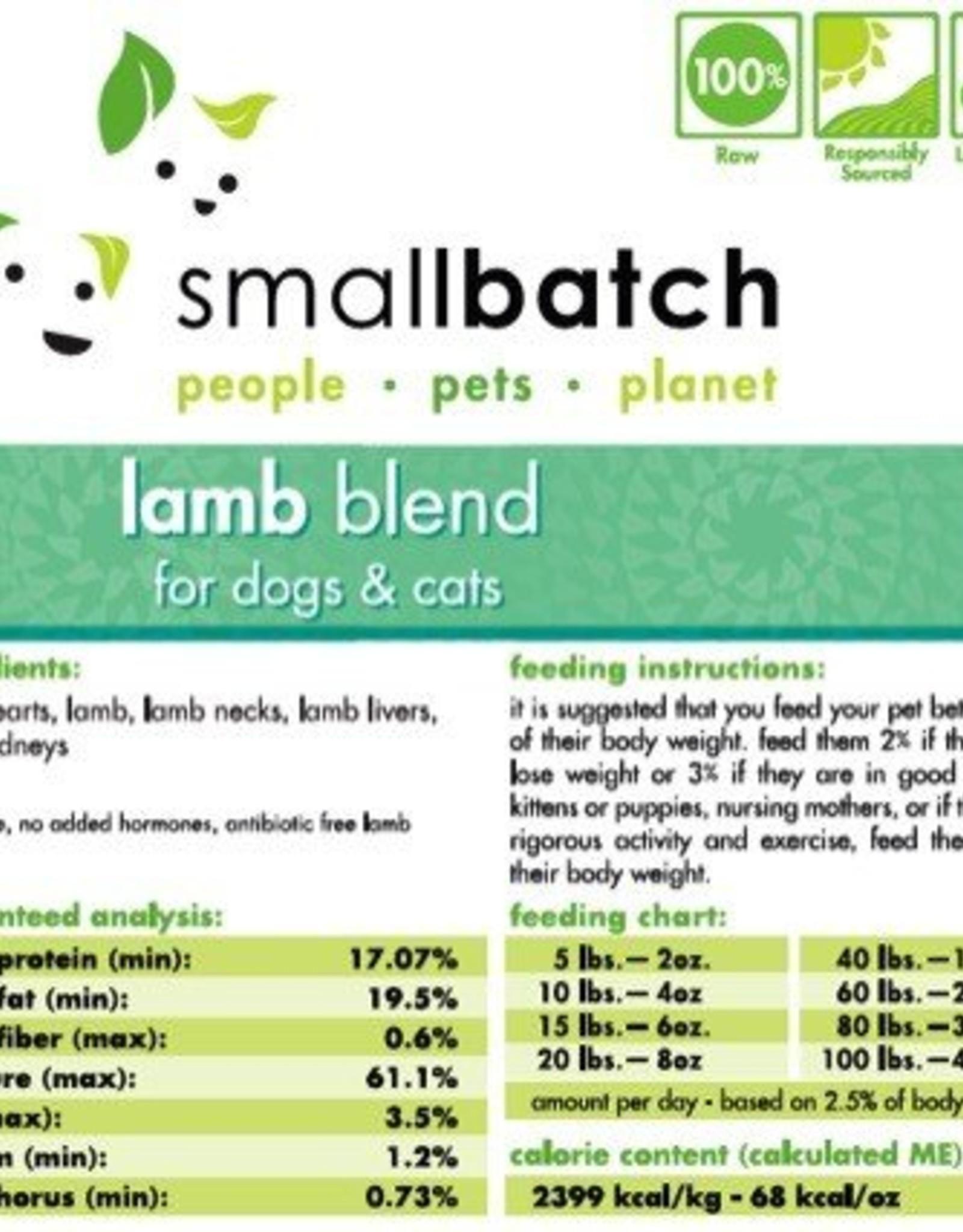 Smallbatch Smallbatch Lamb Blend 2lb