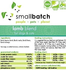 Smallbatch Smallbatch Lamb Blend 2lb