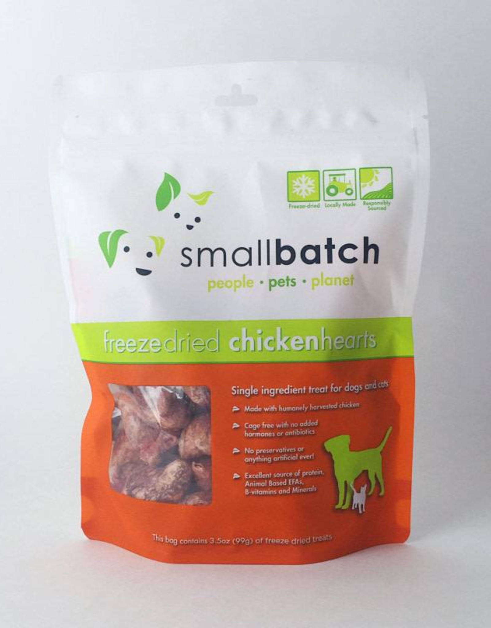 Smallbatch Smallbatch Freeze Dried Chicken Hearts