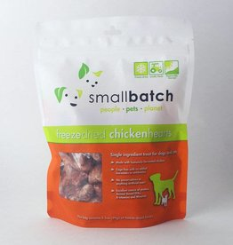 Smallbatch Smallbatch Freeze Dried Chicken Hearts