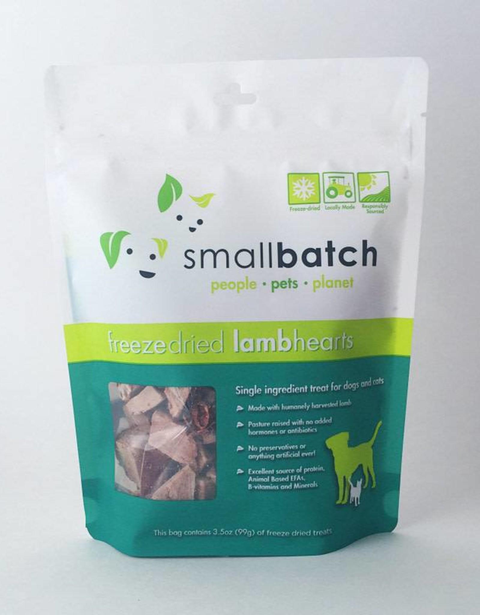 Smallbatch Smallbatch Freeze Dried Lamb Hearts