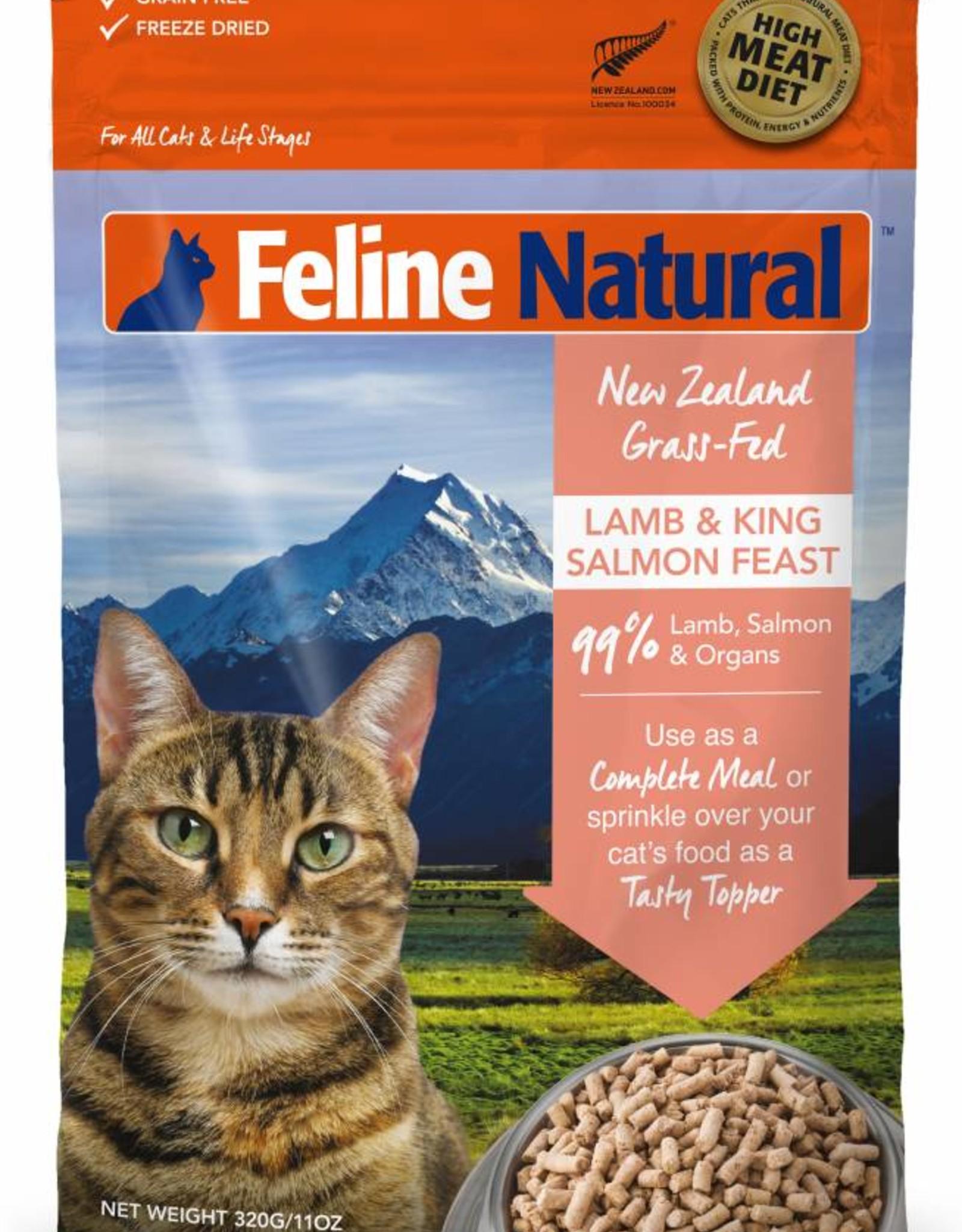 K9 Natural Feline Natural Freeze-Dried Lamb & King Salmon Feast
