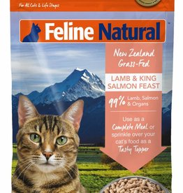 K9 Natural Feline Natural Freeze-Dried Lamb & King Salmon Feast