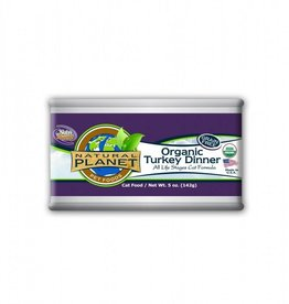 Natural Planet Natural Planet Organic Turkey Dinner for Cats 5.5oz