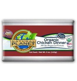 Natural Planet Natural Planet Organic Chicken Dinner for Cats 5.5oz