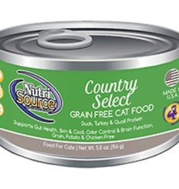 NutriSource NutriSource Country Select Cat 5.5oz