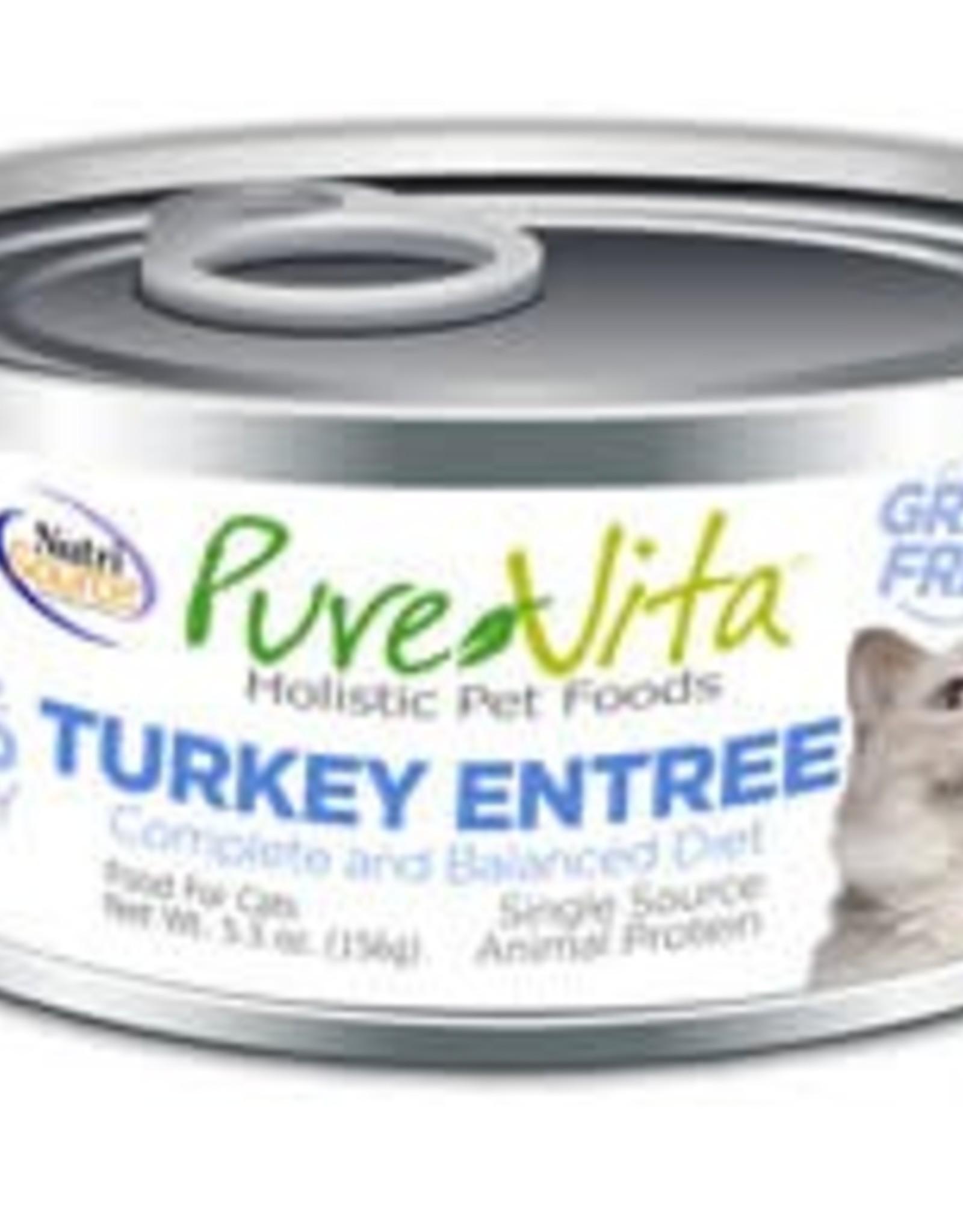 PureVita PureVita 96% Turkey Entree Cat 5.5oz