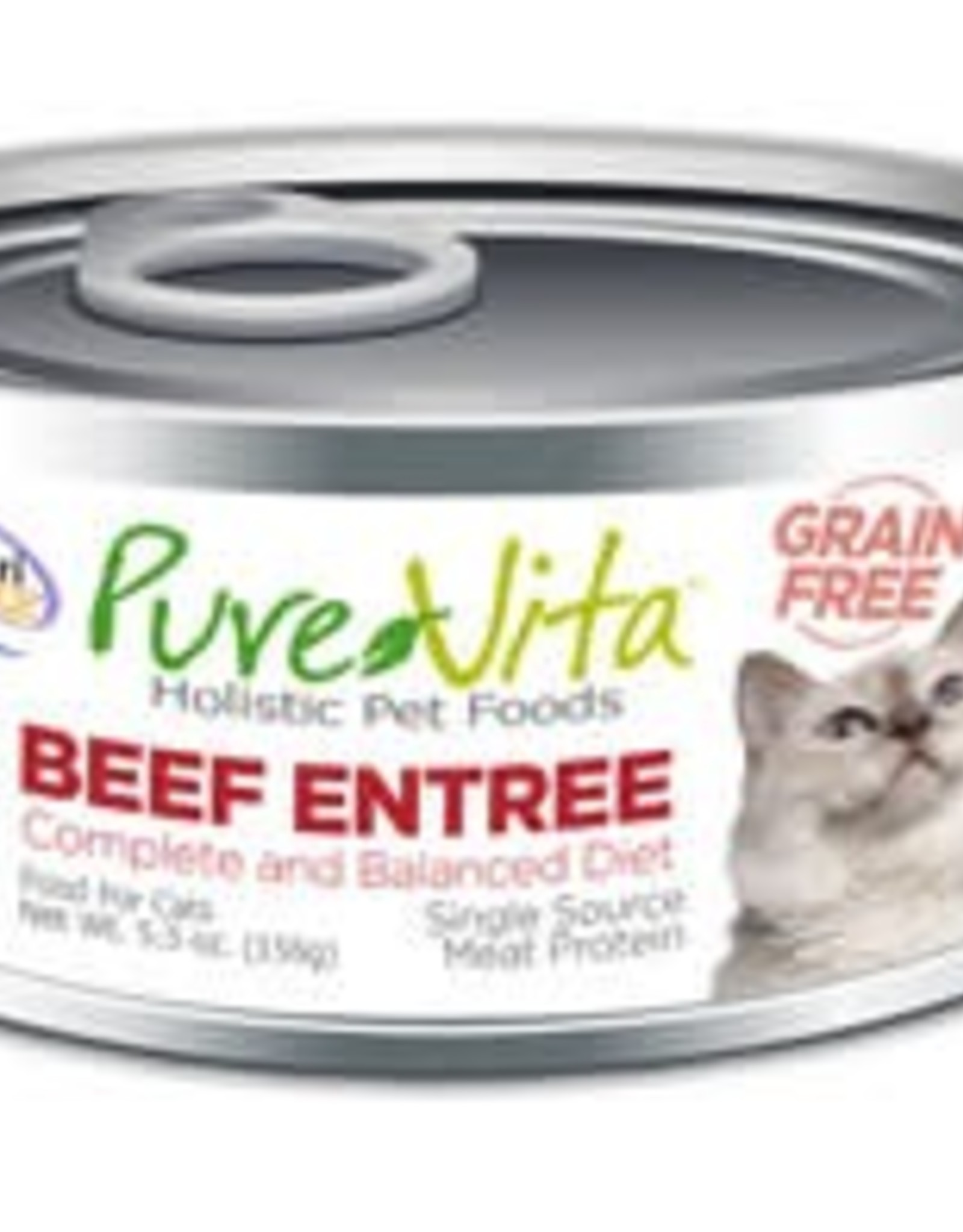 PureVita PureVita 96% Beef Entree Cat