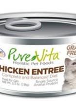 PureVita PureVita 96% Chicken Entree Cat 5.5oz
