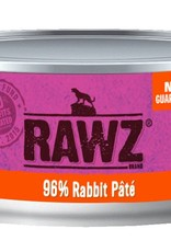 Rawz Rawz Cat 96% Rabbit Pate 5.5oz